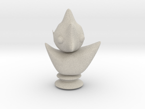 chess bird in Natural Sandstone