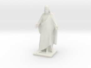 Jesus christ figurine in White Natural Versatile Plastic