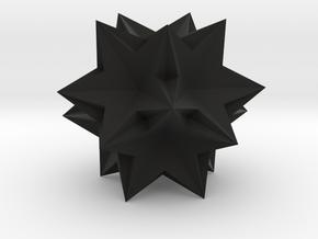 Ten tetrahedra in Black Premium Strong & Flexible