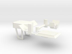 1/64 F/V Cab Kit in White Processed Versatile Plastic