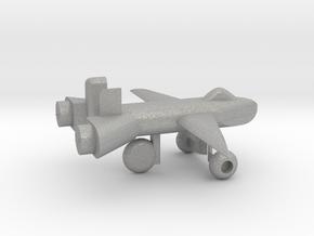 Jet w/ landing gear in Aluminum