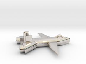 Jet no landing gear in Platinum