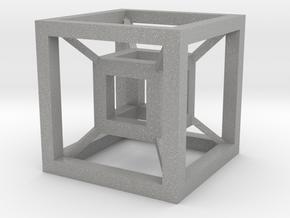 Cube in the cube in Aluminum