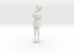 Printle C Femme 477 - 1/32 - wob in White Natural Versatile Plastic