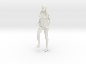 Printle C Femme 891 - 1/32 - wob in White Natural Versatile Plastic