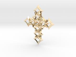 cross 06 in 14K Yellow Gold