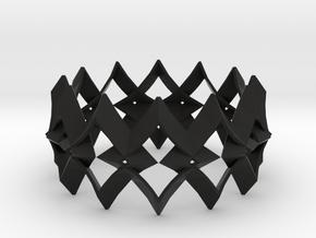 bracelet 01 in Black Premium Versatile Plastic