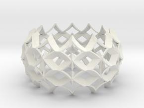 bracelet 03 in White Premium Versatile Plastic