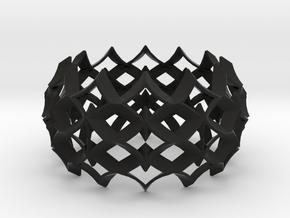 bracelet 03 in Black Premium Versatile Plastic