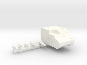 M3L 'Marauder' Tank in White Processed Versatile Plastic