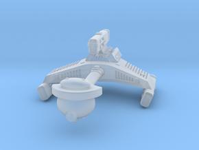 3125 Scale Klingon F6 Battle Frigate WEM in Smooth Fine Detail Plastic