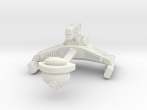3125 Scale Klingon F6 Battle Frigate WEM in White Natural Versatile Plastic