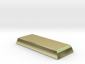 chocolate bar of wealth in 18k Gold: 1:43.5