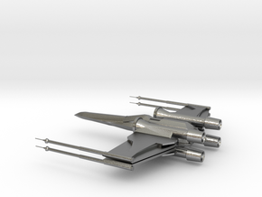 X-Wing in Natural Silver