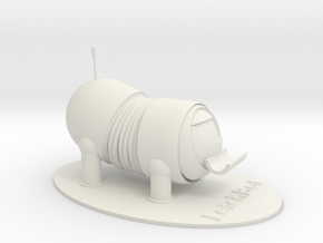 The Lab VR ® FetchBot Pencil Holder in White Natural Versatile Plastic