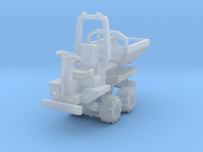 1/87 Scale Micro Dumper in Smooth Fine Detail Plastic