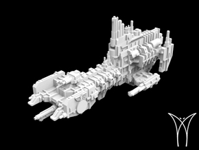 Intrepid MarkI class Cruiser in White Natural Versatile Plastic