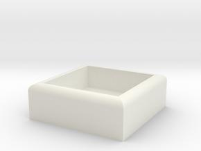 HIC Box in White Natural Versatile Plastic