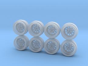 Albert Rennsport 8-6 Hot Wheels Rims in Smoothest Fine Detail Plastic