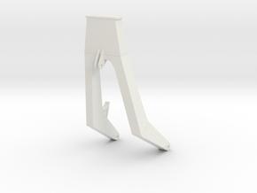 Head gantry 1:100 in White Natural Versatile Plastic