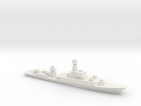 Parchim-Class Corvette, 1/1800 in White Natural Versatile Plastic