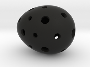 Mosaic Egg #8 in Black Premium Strong & Flexible