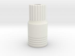 AR60 lockout-V6-splined- bearing inside 11 in White Natural Versatile Plastic