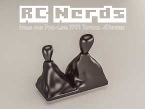 RCN065b Gear shifts for Toyota 4Runner in White Strong & Flexible