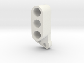 TC4 Camber Link Mount FR RL 2POS in White Natural Versatile Plastic