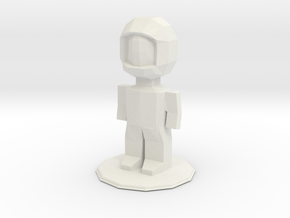 Astronaut in White Natural Versatile Plastic: Medium