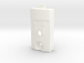 KRCNC2 Lightsaber Emiter core box in White Processed Versatile Plastic