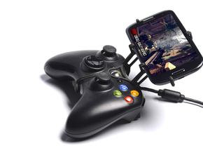 Xbox 360 controller & BlackBerry Motion in Black Natural Versatile Plastic