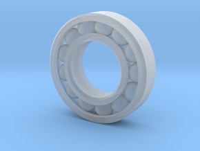 10 mm Outer Diameter Ball Bearing (Rescalable) in Smoothest Fine Detail Plastic