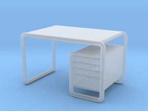 Miniature Thonet S 285/2 Table - Marcel Breuer in Smooth Fine Detail Plastic: 1:24