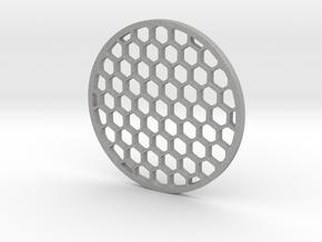 Honeycomb killflash 57 mm diameter 3 mm thick in Aluminum