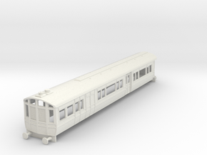 o-76-lnwr-steam-railmotor-v2 in White Natural Versatile Plastic