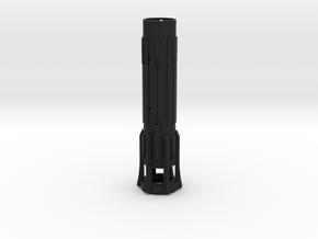 KRCNC2 Lightsaber body in Black Natural Versatile Plastic