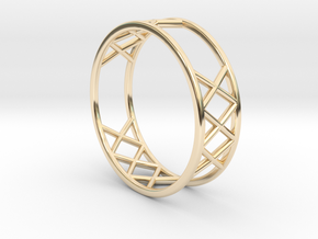 XXX Ring Size  [ 13 ] in 14k Gold Plated Brass