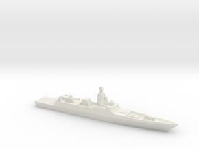 Admiral Gorshkov-class frigate, 1/3000 in White Natural Versatile Plastic