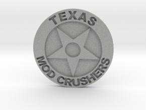 TMC Badge 1.5 Inch in Aluminum