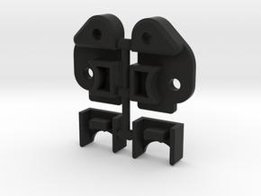 Vaterra Ascender RULR - LWB or SWB in Black Premium Versatile Plastic