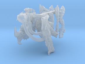 Alien Gun Bug in Smooth Fine Detail Plastic