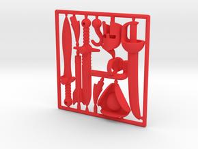 Myke Adventure Gear Frame in Red Processed Versatile Plastic