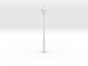 1:35 Light pole in White Natural Versatile Plastic
