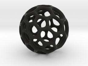 Gaia-50 (from $12) in Black Premium Versatile Plastic