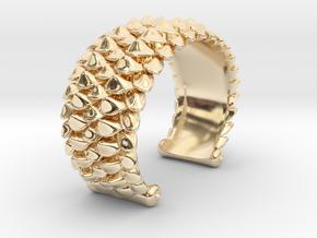 scale 2017 cuff medium precious metal model 10-27- in 14K Yellow Gold