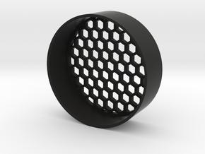 Honeycomb killflash 57mm in Black Natural Versatile Plastic