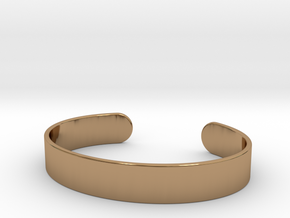 Cuff Bracelet – Wide in Polished Brass