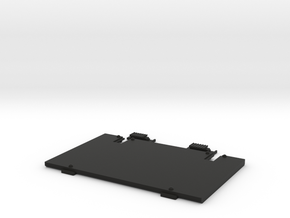 HP-75 Expansion Pod battery door & latches in Black Natural Versatile Plastic