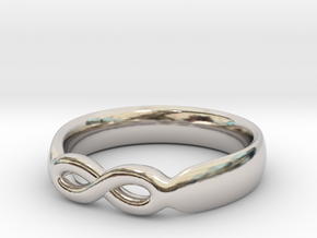 Infinity Ring in Platinum: 7 / 54